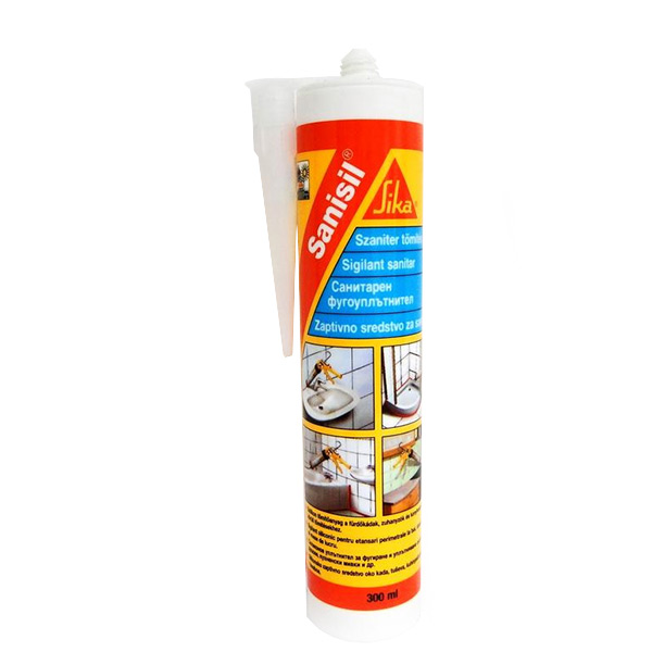 Санитарен силикон Sika Sanisil - ГИС 04 - Всичко за ремонта в Плевен и областта